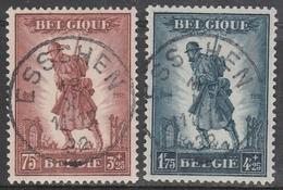 351/352 Infanterie Oblit/gestp Centrale - Oblitérés