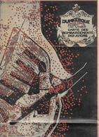 D 59 . Lot 4 Cartes . DUNKERQUE . 1914 / 1918 . CARTES Des BOMBARDEMENTS Par AVIONS - CANONS - MER - Les ABRIS .... - Cartes Géographiques