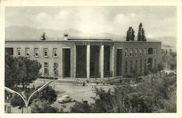 Tirana (Albania) Das Gebaude Der Staatsbank, Banca Nazionale Albanese, Banque Nationale - Albania
