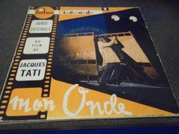 VINYLE 45 T BANDE ORIGINALE DU FILM MON ONCLE DE JACQUES TATI  FONTANA 460 565 ME - Soundtracks, Film Music