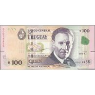 TWN - URUGUAY 95 - 100 Pesos Uruguayos 2015 (2018) Serie G UNC - Uruguay