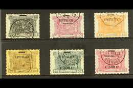 """1911 """"Republica"""" Opt Postage Dues Range, Between SG 442-452, Very Fine Used (6 Stamps) For More Images, Please Visit Htt - Portugal"""