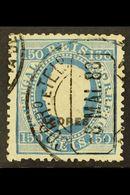 AZORES 1882-85 150r Blue Perf 12½, SG 81, Afinsa 43, Fine Used, An Elusive Issue With A Neat Dated Cds. Some Small Fault - Colonies Portugaises Et Dépendances - Non Classés