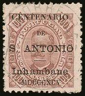 INHAMBANE 1893-94 100r Brown/yellow Perf 11½, St Anthony Opt, Afinsa 13, Very Fine Used. For More Images, Please Visit H - Colonies Portugaises Et Dépendances - Non Classés