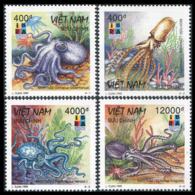 SOUTH VIETNAM 1999  YT N° 1823-1826 **  Mi# 2985-2988 MNH - Vietnam
