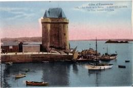 Ak / Cote D'Emeraude - St. Servan-sur-Mer - Les Bords De La Rance - La Tour Solidor Et La Cale, 1940 - Saint Servan