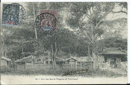 INDOCHINE - CARTE POSTALE Au Départ De SAIGON CENTRAL - - Indochine (1889-1945)