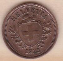 Suisse 1 Rappen 1925 B - Schweiz
