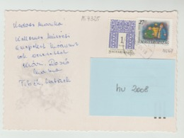 18.4.2000  -  FM/DM + SM  Auf Glückwunschkarte, Gel. V.  Esztergom N  4040 Linz - O Gestempelt - Siehe Scans (hu 2008) - Ungarn
