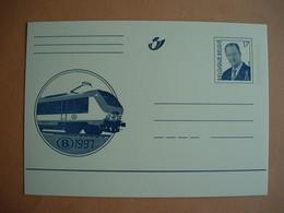 "Belgique. Entier Postal Illustré Train SNCNB ""B"". Locomotive. 1997 - Illustrat. Cards"