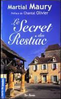 Martial Maury - Le Secret Des Restiac - Terre De Poche  / Éditions De Borée - ( 2008 ) . - Livres, BD, Revues