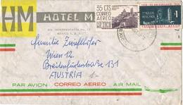 30854. Carta Aerea MEXICO (D.F.) 1958.  Hotel MARLOWE - Mexique