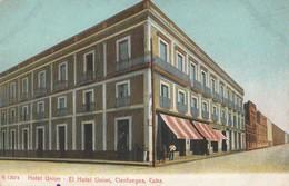 CPA  CUBA HOTEL UNION CIENFUEGOS AVANT 1904 - Postcards