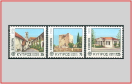Cipro Cyprus 1978 - Cat. 479/81 (MNH **) Europa CEPT - Europe (003460) - Chypre (République)