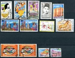TUNISIE  LOT DE 13 TIMBRES OBLITERES - Tunisie (1956-...)