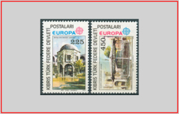 Cipro Turca Cyprus Turkish 1978 - Cat. 46/47 (MNH **) Europa CEPT - Europe (003461) - Chypre (Turquie)
