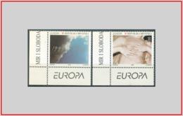 Croazia Croatia 1995 - Cat. 279/80 (MNH **) Europa CEPT - Europe (008383) - Croazia