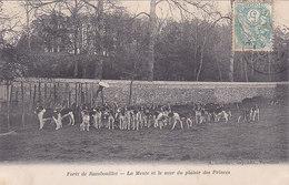 Foret De Rambouillet La Meute Et Le Mur Du Plaisir Des Princes Chasses éditeur A Bourdier - Rambouillet