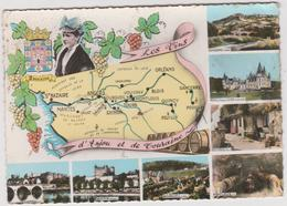 Maine Et Loire :  Anjou Et Touraine   , Vin , 1966 - France