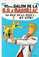 Carte Postale TIBET Festival BD Bassillac 2000 (Ric Hochet..) - Cartoline Postali
