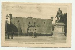 TORINO - LA CITTADELLA E MONUMENTO A PIETRO MICCA 1914  - VIAGGIATA FP - Italy