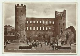TORINO - PIAZZA CESARE AUGUSTO - TORRI PALATINE 1935 - VIAGGIATA FG - Italy