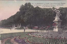 Saint Germain En Laye Rond Point De La Terrasse Le Rosarium La Feuille Et L Ouragan De Forestier  éditeur N°85 - St. Germain En Laye (Château)