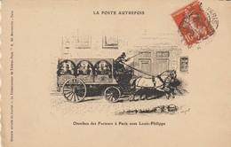 C.P.A. - LA POSTE AUTREFOIS - OMNIBUS DES FACTEURS A PARIS SOUS LOUIS PHILIPPE - - Poste & Facteurs
