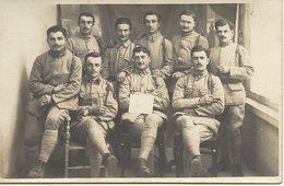 GROUPE  DE  MILITAIRES   AVEC  NO  95  SUR  LE  COL - Regiments