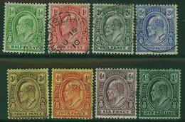 TURKS & CAICOS ISLANDS 1909 KEVII ½d-1s Definitives SG 117-24 Fine Used (8v) - Turks And Caicos