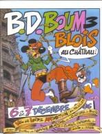 Carte Postale SOLE Jean Festival BD Blois 1986 (Astérix Mickey Tintin Spirou..) - Ansichtskarten