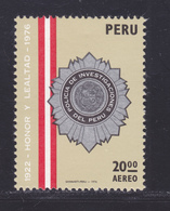 PEROU AERIENS N°  424 ** MNH Neuf Sans Charnière, TB (D7866) Police Péruvienne - 1976 - Peru