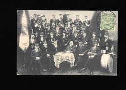C.P.A. DE L HARMONIE D USELDANGE AU LUXEMBOURG... - Postcards