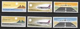 MALTE    -   Poste Aérienne.   1978.   Y&T N° 9 à 14 **.  Avions.  Série Complète.. - Malta