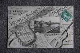 MELUN - Souvenir Du Concours De Musique - Melun
