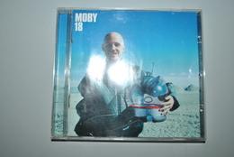 """Moby """"18"""" CD Bon état Livret Défraichi Vente En Belgique Uniquement Envoi Bpost 2,50 € - Rock"""