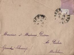 Correspondance -  Fille De La Famille Puren Annonçant Son Mariage Avec Dieu & Conviant Ses Parents à La Cérémonie 1915 - Documents Historiques