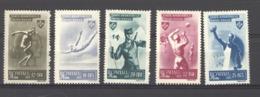 Roumanie  :  Yv  843-47  **   Sport - Neufs