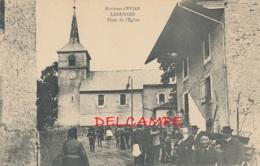 74 // LARRINGES    Place De L'église, (environs D Evian) - France
