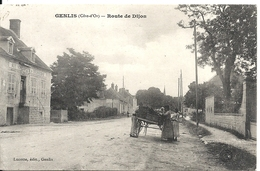 GENLIS. ROUTE DE DIJON. BLANCHISSEUSES - Other Municipalities