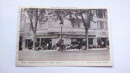 Carte Postale (K6 ) Ancienne De Nice ,bar Palladium ,  Boulevard Gambetta - Other