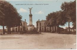 SAINT AIGULIN   PLACE DE LA VICTOIRE - France