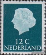 Niederlande 641Z Z Un, Senza WasserZeichen MNH 1954 - 1949-1980 (Juliana)