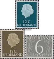 Niederlande 641X X Un-642X X Un,646 (completa.Unusg.) MNH 1954 , I Numeri - 1949-1980 (Juliana)