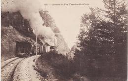 CHEMIN DE FER YVERDON- SAINTE CROIX - NE Neuchâtel