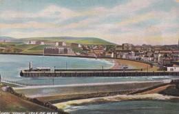 Postcard Peel Town Isle Of Man [ Hildesheimer ] To Mrs Smith Woodville Road Chorley In 1912 My Ref  B12651 - Isle Of Man