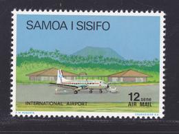 SAMOA AERIENS N°    9a ** MNH Neuf Sans Charnière, TB (D7867) Avion, Aéroport International, Réimpression 1976 - Samoa