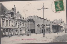 Cpa    B41 LILLE Halles Saint-Martin-fabrique A.FASSIN & Cie-belle Façade-animée - Lille
