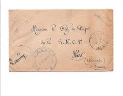 CACHET ECOLE RADAR ALGERIE - Cachets Militaires A Partir De 1900 (hors Guerres)