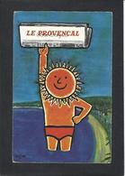CPSM Savignac Non Circulé Le Provencal Publicité Publicitaire - Savignac